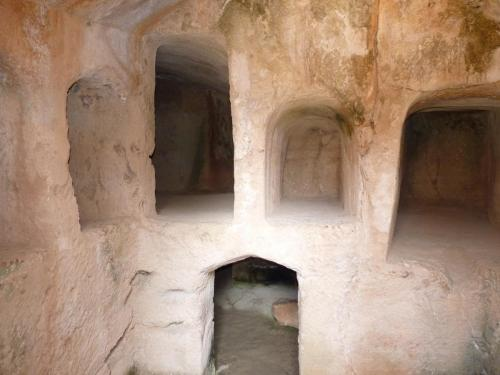 Inside Royal Tombs Paphos