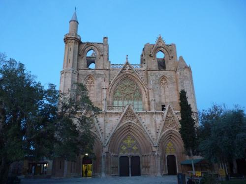 Lala Mustafa Paşa Mosque (St Nicholas Cathedral) Facade