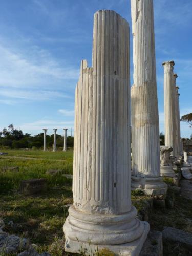 Salamis Ruins North Cyprus