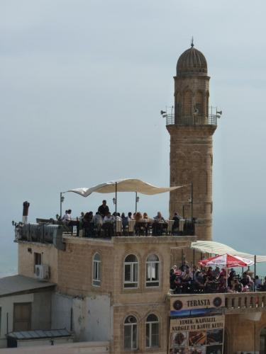 Mardin terrace with view